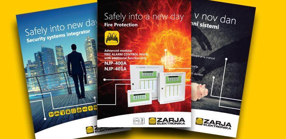 Oblikovanje oglasov za Zarja Elektronika.