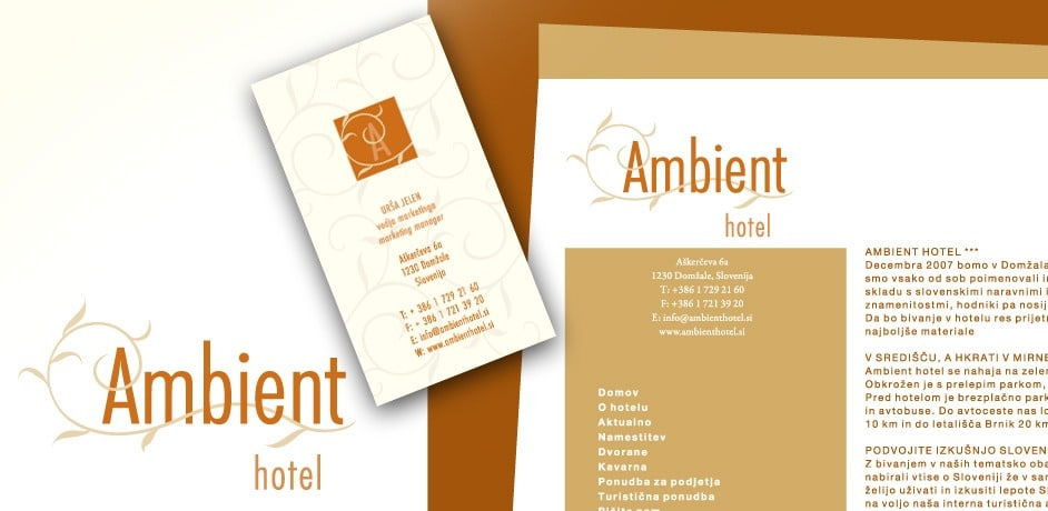 Ambient hotel banner