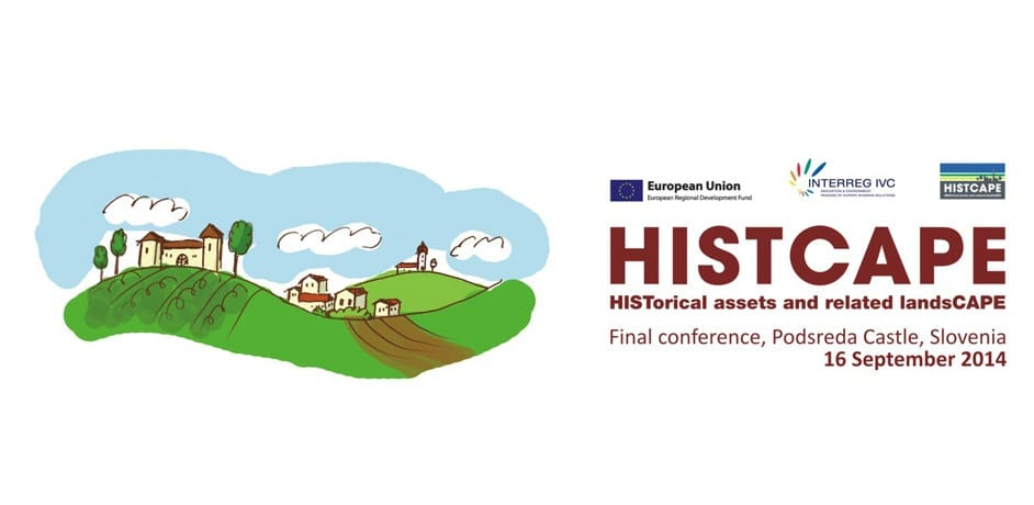 Grafično oblikovanje logotipa za podjetje Histcape.