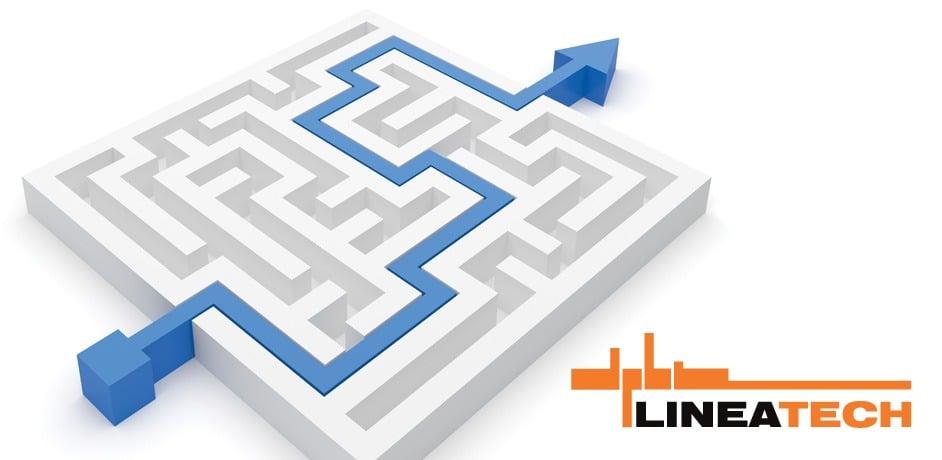 Oblikovanje celostne grafične podobe za podjetje Lineatech.