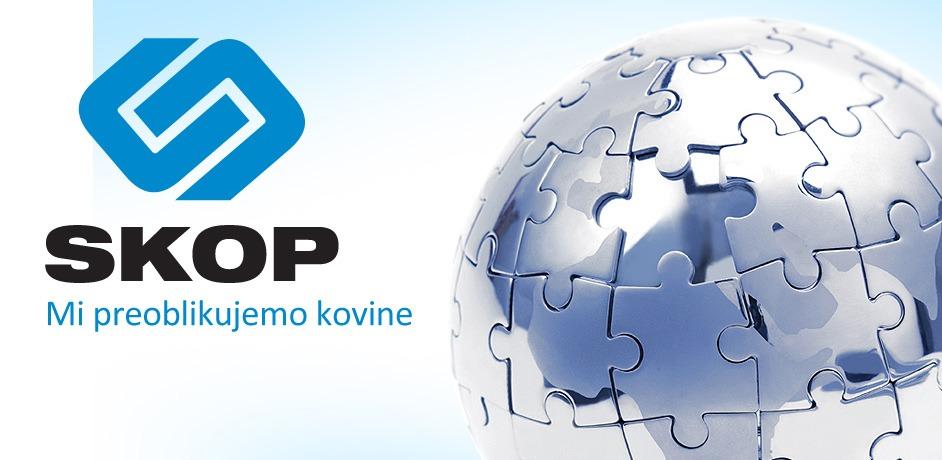 Oblikovanje tiskovin za podjetje Skop.