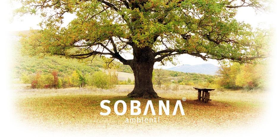 Nova celostna grafična podoba za podjetje Sobana Ambienti.