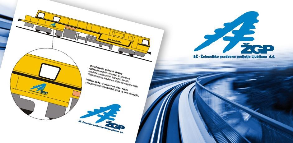 Oblikovanje brošure in ostalih tiskovin za ŽGP.
