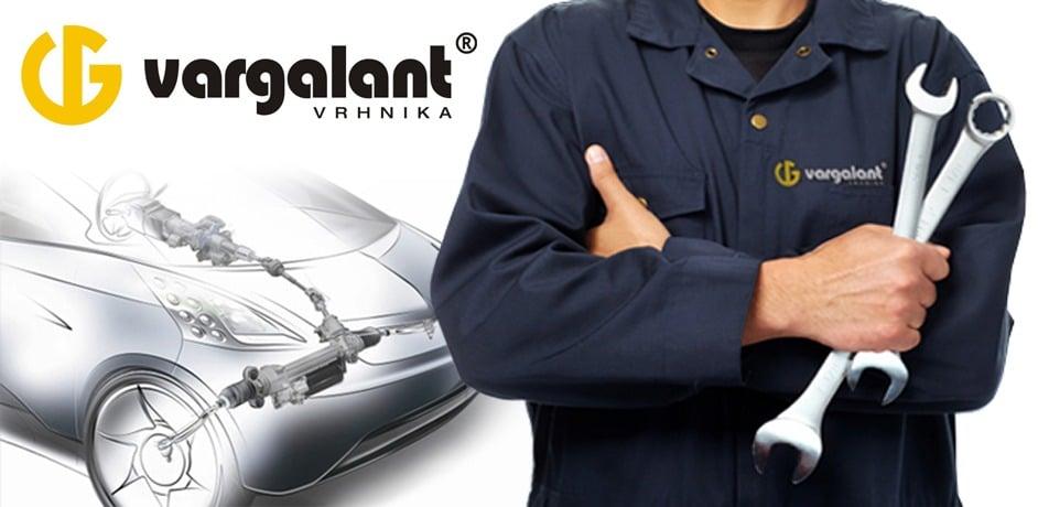 Oblikovanje spletnih strani za podjetje Vargalant.