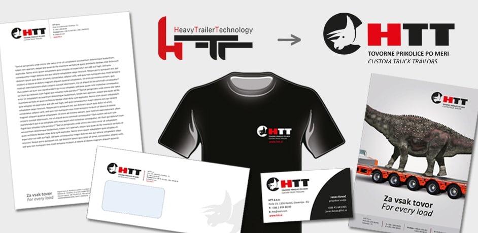 Oblikovanje prospektov za podjetje HTT.