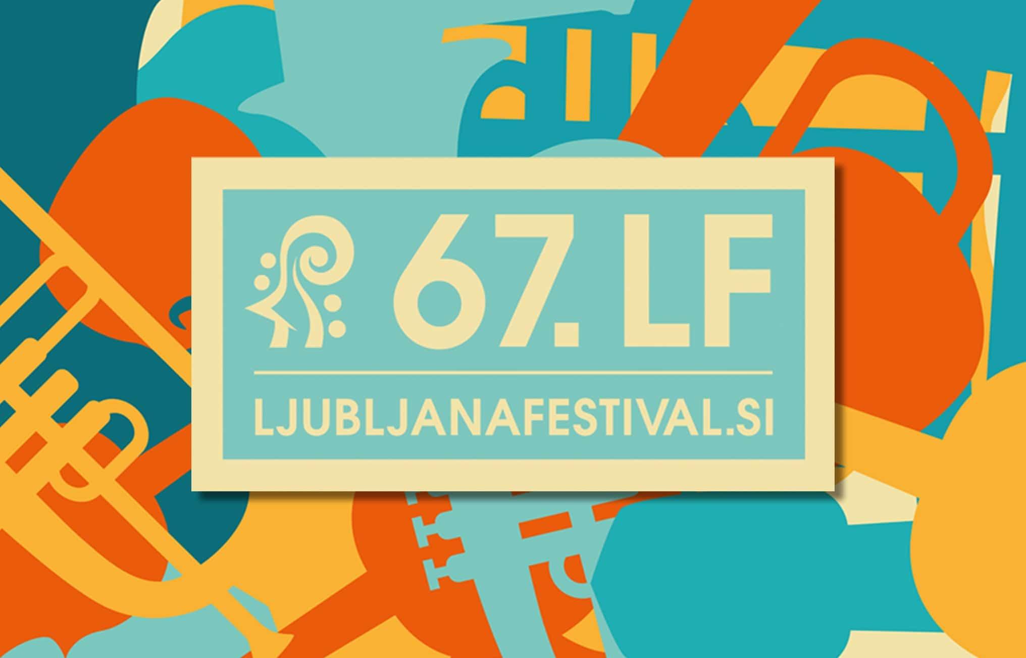 Oblikovanje tiskovin za 67. Ljubljana festival.