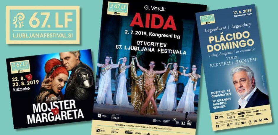 Oblikovanje prospektov za 67. Ljubljana festival.